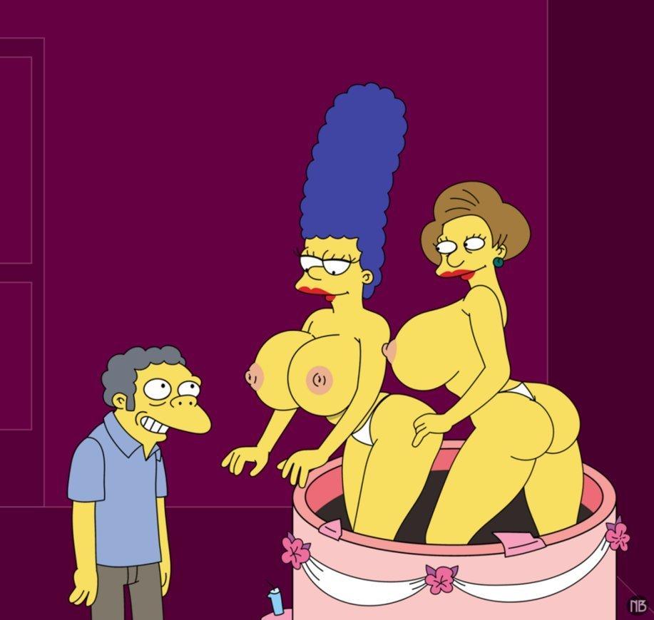 Edna Krabappel Simpsons Hentai