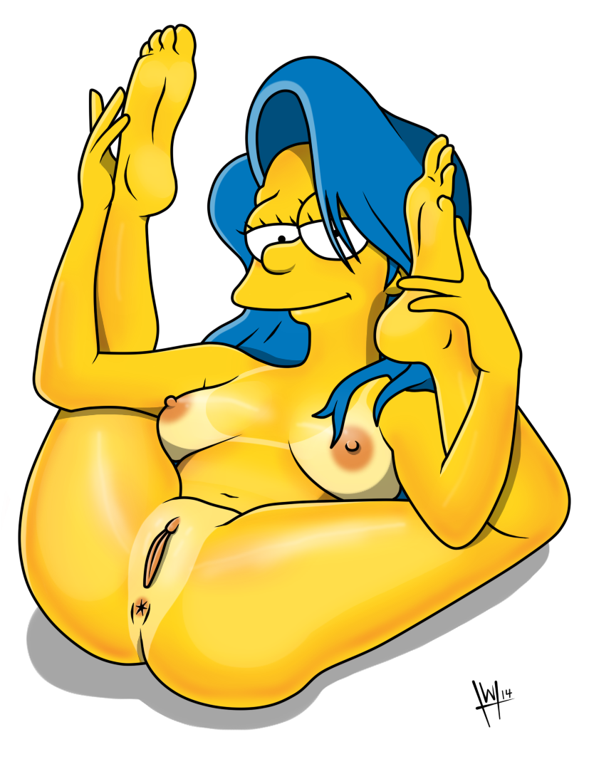 from Angel foto nude hard marge simpson